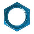 Locknut (AN 924) - Aluminum Blue Anodized