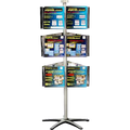 Carousel Unit with 18 A4 Brochure Holders