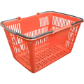 10 Red Shopping Basket
