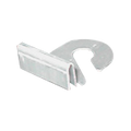 Aluminium Ceiling Hook (Right Hook) pack of 10