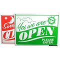 Open/Closed Sign Green/Red