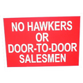 A5 Poly Sign (NO HAWKERS)