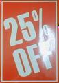 A3 celloglazed card ( 25 % off )