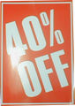 A3 celloglazed card (40 % off)