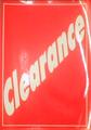 A3 celloglazed card ( clearance)