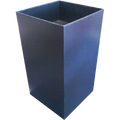 Cardboard Dump Bin - Black