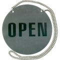 Stainless Steel Wall Sign - Open / Closed