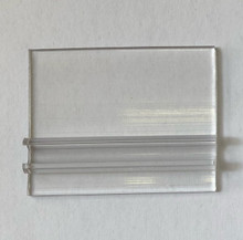 Variable Base Clear 25mm for holding THE25 and TTHE25 ticket and tag holders