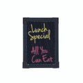 BATTERY OPERATED ELECTRIC 29 BY 20 CM BLACK BOARD WITH 2 LIQUID CHALK PENS