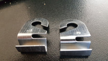 Pair of aluminum ceiling hooks - Use 2 for added strength.
