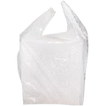 White Singlet Bags 400 by 250 mm pack of 250