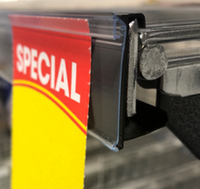 POS-GRIP Shelf Stripping 1220 by 26 mm clear
