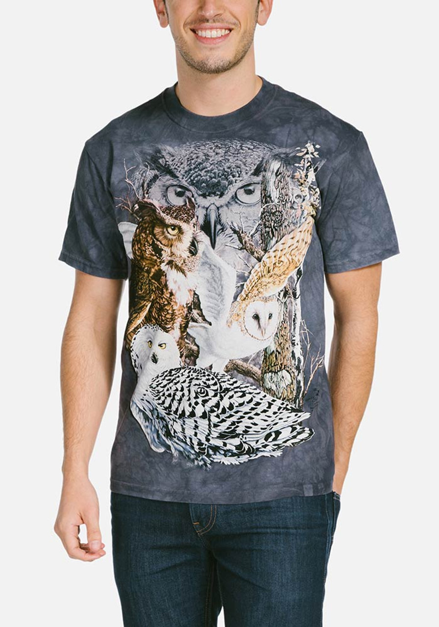 Find 11 owls t shirt T shirt with owl design