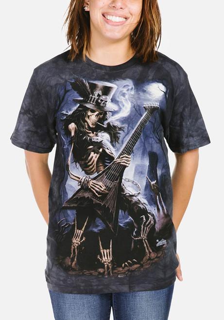 Play Dead T-Shirt Modeled