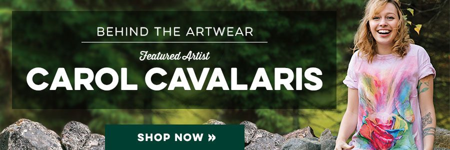 Carol Cavalaris Art T-Shirt Collection