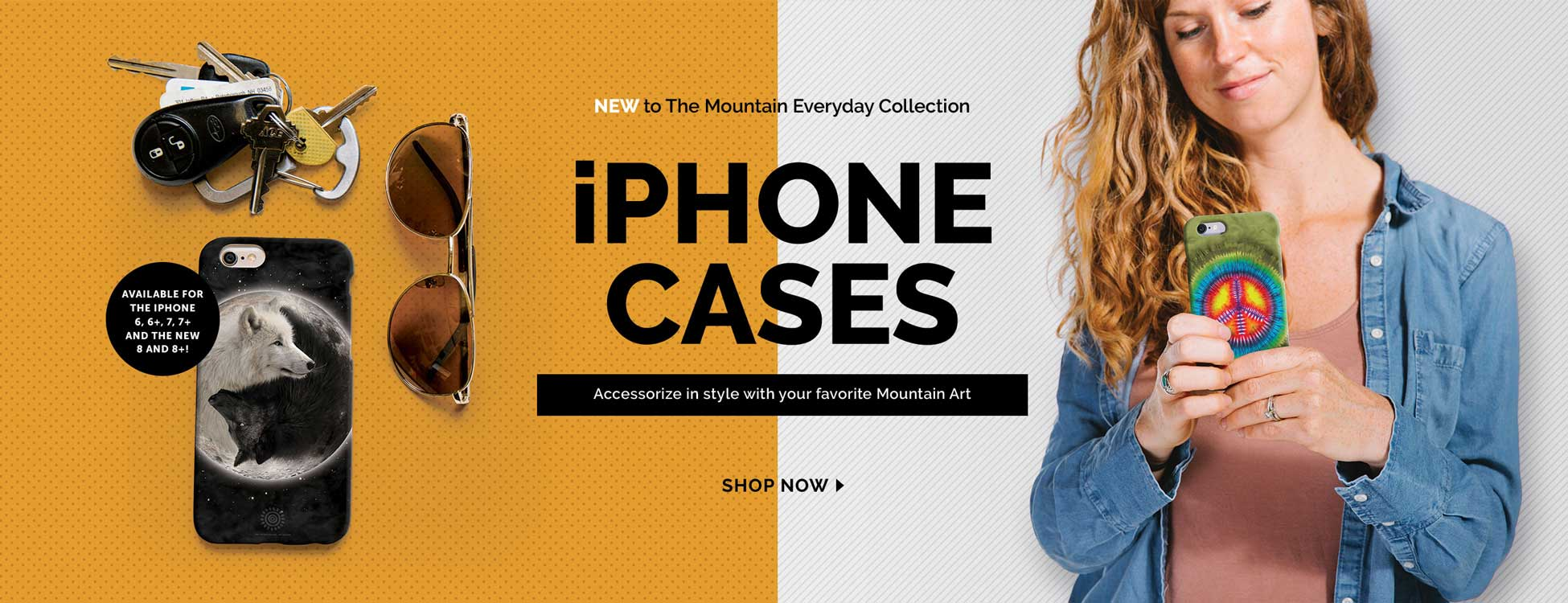 Shop Mountain iPhone Cases