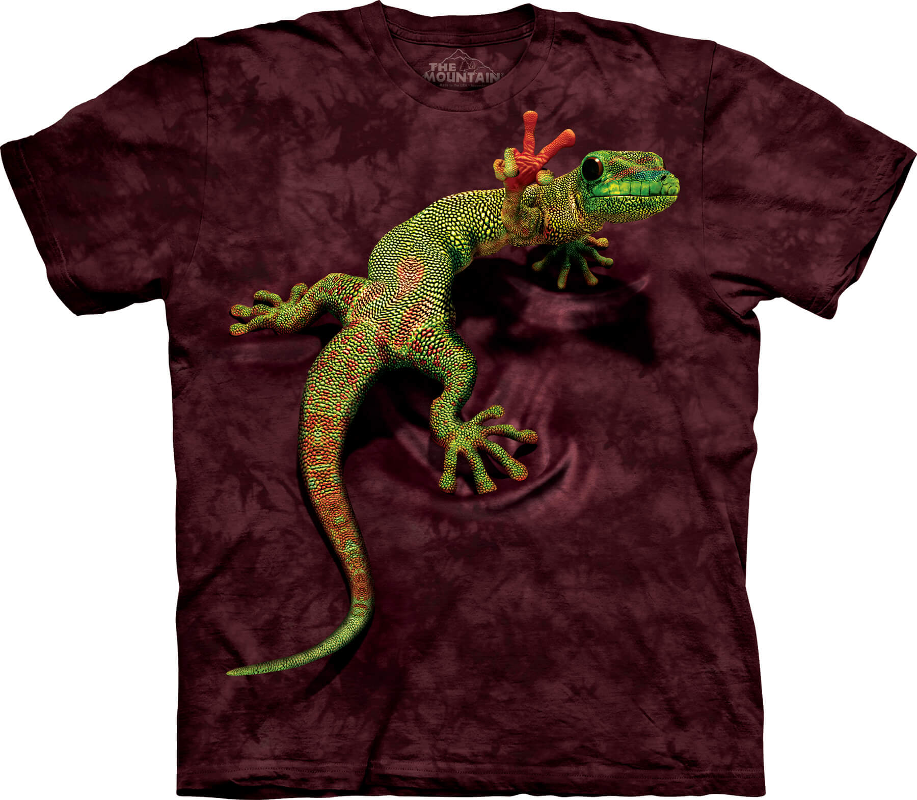 Peace Out Gecko T-Shirt