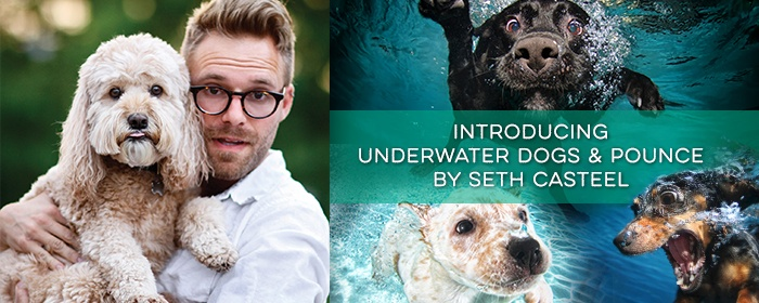Award-Winning Photographer Seth Casteel Brings Pounce and Underwater Dog T-Shirts To The Mountain