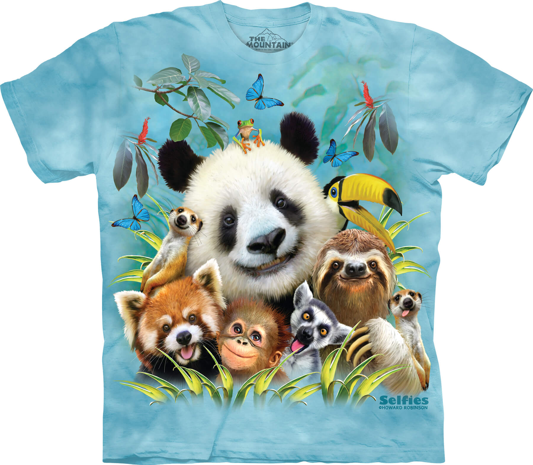 Zoo Selfie Kids T-Shirt
