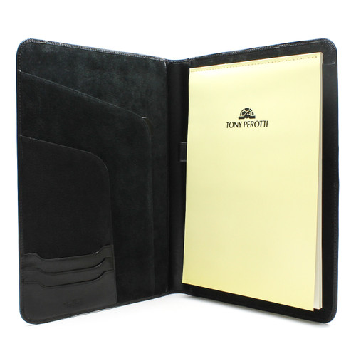 Ultimo Executive Business Writing Pad PI803301 Black Open
