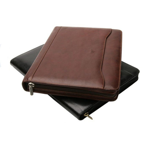 Ultimo Zip Around Pad Cover Black and Brown
