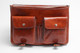 Florence Messenger Bag | Two internal pockets | Color Honey