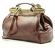 Modena - Doctor leather bag | Brown | Detachable shoulder strap