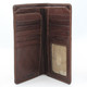 Prima Breast Secretary Men's Bi-Fold Wallet PG409001 | Open | Color Brown