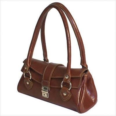 Luca Women's Italian Leather Handbag | Color Brown