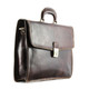 Vernio Single Gusset Briefcase | Color Brown