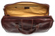 Verona Duffel Bag | Color Dark Brown | Internal zippered compartment
