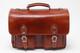 Parma Laptop Leather Messenger Bag | Front | Color Honey