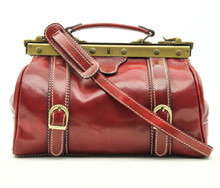 Tavoli - leather bag | Color Red