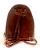 Monza Zip-Around Backpack PI220404 | Color Brown | Adjustable Shoulder Straps