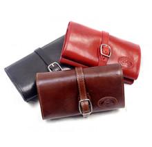 Handmade Italian Leather Jewelry Roll | Group