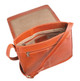 Prima Flap Pouch-Messenger Handbag SAJ-8599/PL Orange Open