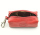Italico Top-Zip Key Case | Top Open | Color Red