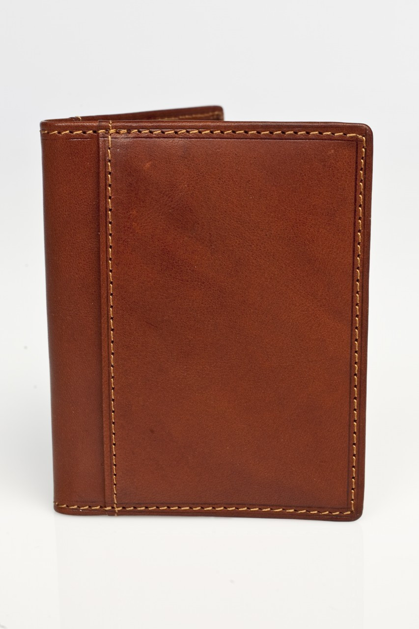 4436589067e800 ... Tony Perotti Mens Italian Cow Leather Front Pocket Bifold Weekend  Wallet with ID Window. Image 1. Image 1; Image 2 ...