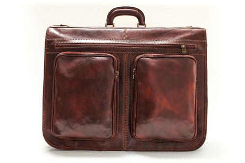 Torino Garment Bag | Color Brown