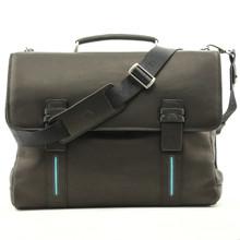Falminio Laptop Bag | Black | Front