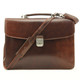 Massimo Bellini Briefcase | Brown | With Strap