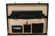 Venezia Grande Leather Attache Case | Cell phone, pens and credit card compartments | Color Black