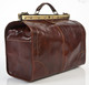 Roma Grande- Travel leather bag - Large size| Back Zipper Compartment | Color Brown