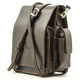 Torino Vertical Flap-Over Carry All Bag -  Strap with side view