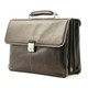 Tony Perotti Triple Compartment Briefcase - Front View