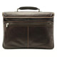 Tony Perotti Triple Compartment Briefcase - Zip Closure