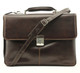 Tony Perotti Triple Compartment Briefcase - Full view