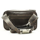 Tony Perotti Italian Leather Lucca Waist Pack - brown back view