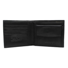 Rome - Billfold with Coin Pocket Black