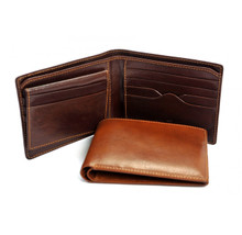 Tony Perotti Mens Italian Bull Leather Bifold Wallet with Removable ID Card Case